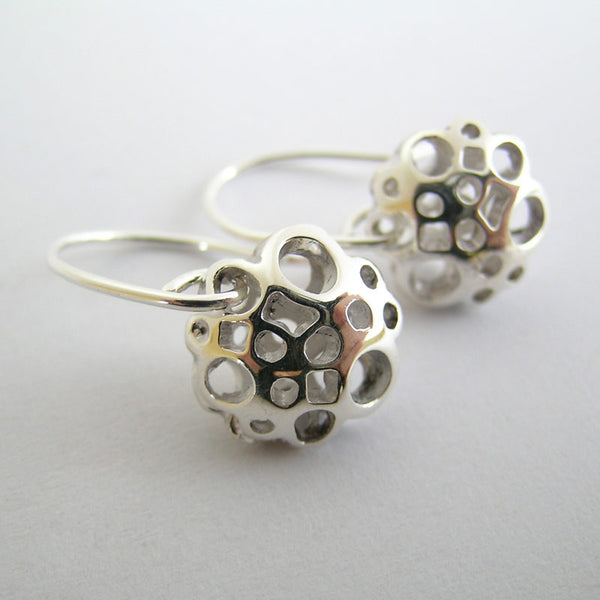 Small Flower Drop Earrings