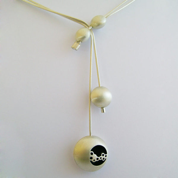 Bubble Along Drop Neckpiece