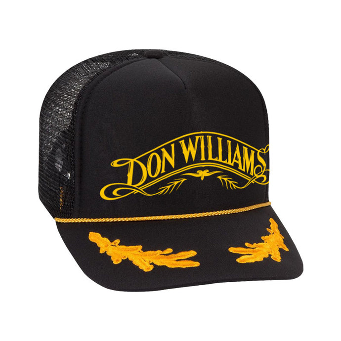 Black & Yellow Don Williams Hat