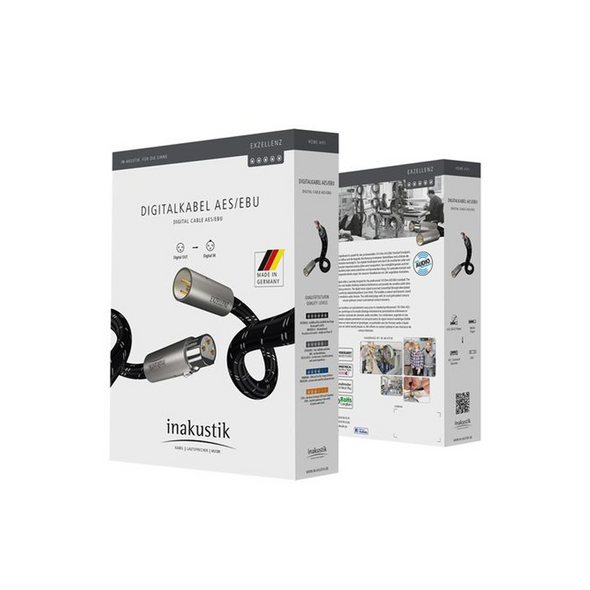 Inakustik Excellence Digital XLR AES/EBU Audio Cable