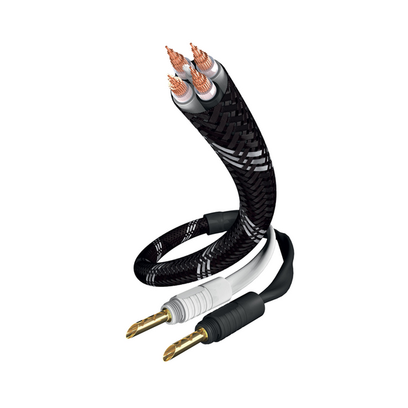 Inakustik Reference LS-1002 Speaker Cable - BFA Banana - Single Wire 3M (pair)