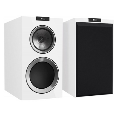 KEF R300 Bookshelf Speakers _ EX DEMO WHITE