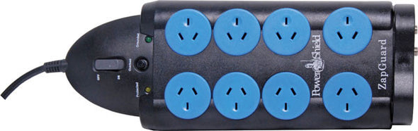 Powershield Zapguard Surge Protected Power Board