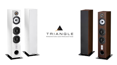 Triangle Esprit Antal Floor Standing Speakers- Walnut Floor Display (PAIR)