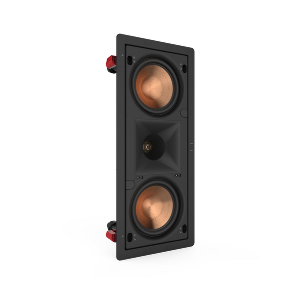 "Klipsch PRO-250RPW LCR Dual 5.25"" In-Wall LCR Speaker (EACH)"