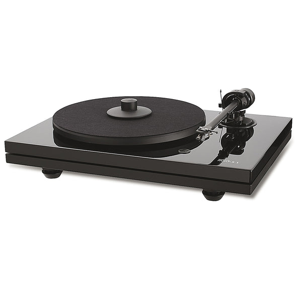 Music Hall mmf-5.1 Turntable Gloss Black
