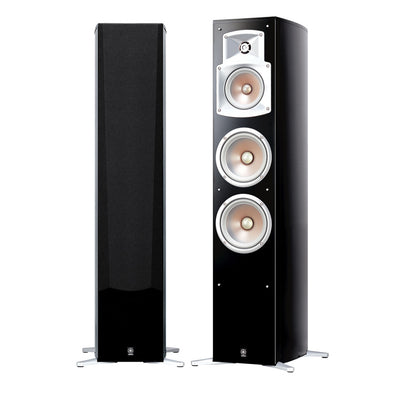 Yamaha NS-555 Gloss Black Floorstanding Speakers