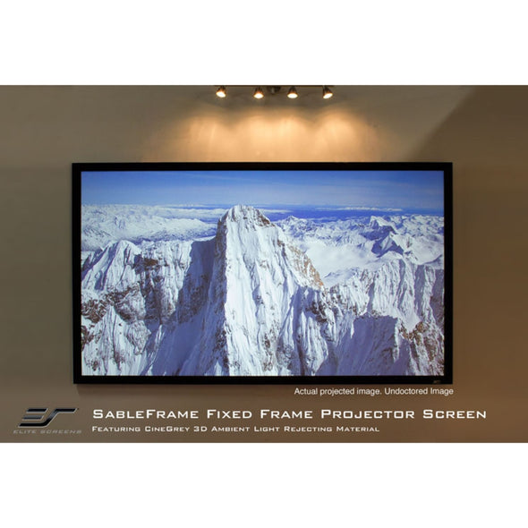 Elite Screens Sable Frame 2  16:9 Fixed Frame Projection Screen