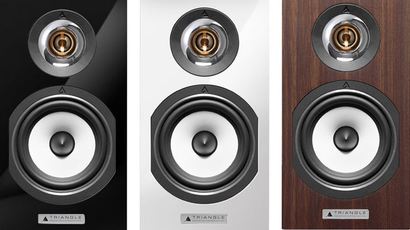 Triangle Esprit Titus Bookshelf Speakers - Black Floor Display (PAIR)