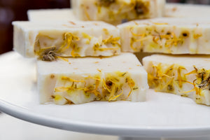 Healing Calendula and Oatmeal Natural & Organic Soap