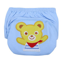 Load image into Gallery viewer, Cute Baby Diapers Reusable Nappies Cloth Diaper Washable Infants Children Baby Cotton Training Pants Panties Nappy - ecomumshop