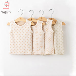 Baby Clothes Organic Cotton Baby Clothing For Newborn Baby Boy Girl Rompers Underwear Babies Sleeveless Pajamas Sleepers costume - ecomumshop