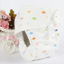 Load image into Gallery viewer, Pure Cotton Baby Reusable Nappies Diaper Waterproof Washable Cloth Diapers Cover Boy Girl Underwear Nappy Changing - ecomumshop