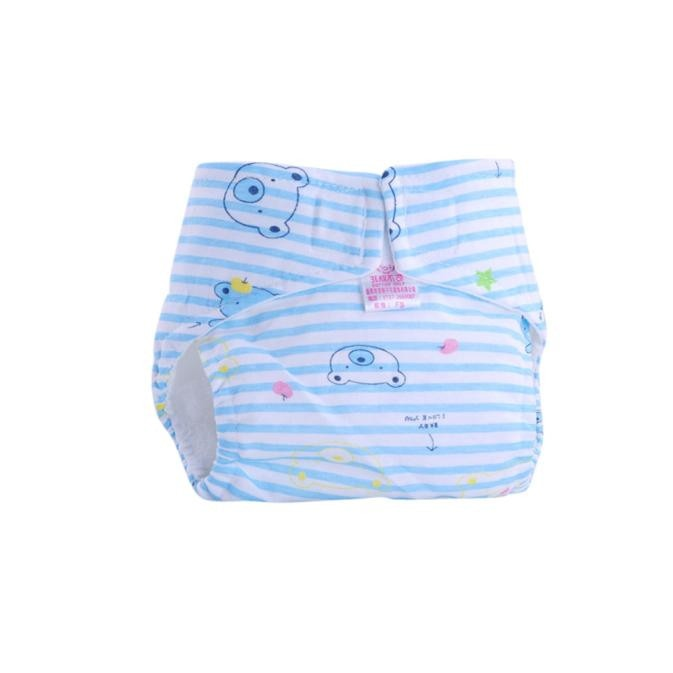 1PC Baby Cotton Diapers Newborn Reusable Nappies Cloth Diaper Washable Infants Children Baby Training Pants Nappy Baby Nappies - ecomumshop