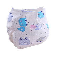 Load image into Gallery viewer, 1PC Baby Cotton Diapers Newborn Reusable Nappies Cloth Diaper Washable Infants Children Baby Training Pants Nappy Baby Nappies - ecomumshop
