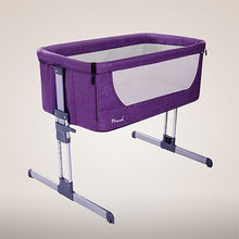 Load image into Gallery viewer, Hot baby crib Folding crib Travel bed Portable Convenience to take Quality material cloth Big space pouch cribs - ecomumshop