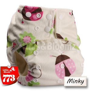 BAMBOO Washable Cloth Nappy Baby Diaper Pocket Nappy Cloth Cover Wrap Reusable Diapers One Size Nappies By Littles&Bloomz - ecomumshop