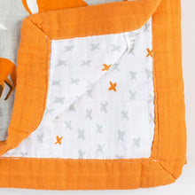 Load image into Gallery viewer, Organic Swaddle Blanket 120*120cm, Gorgeous Designs - ecomumshop