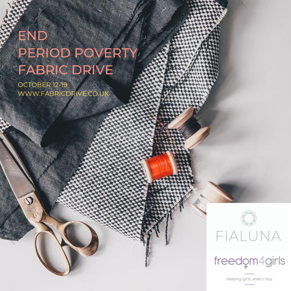 End Period Poverty Fabric Drive