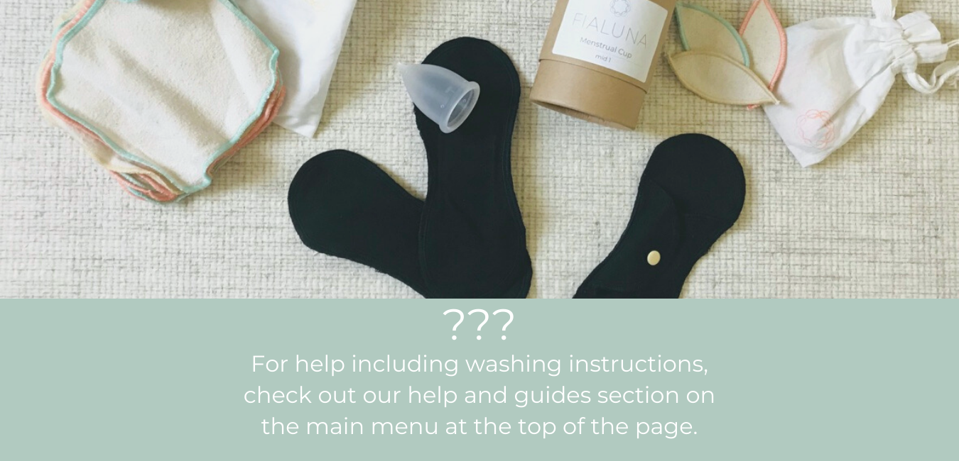 help on how to use reusable pantyliners