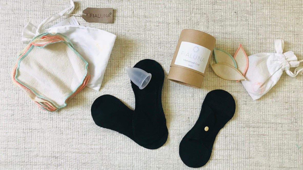 quick start guide reusable period products including menstrual cups and reusable sanitary pads