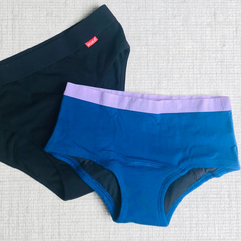 period pants including wuka and thinx