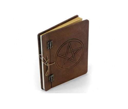 Pentacle Hard Backed Blank Spell Book