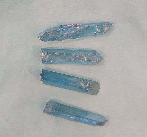 Aqua Aura Quartz Point