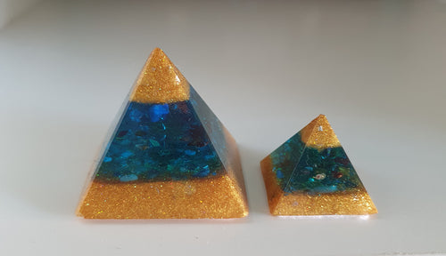 Archangel Michael Orgonite Intention Pyramid