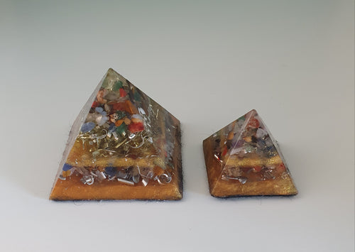 Grounding Orgonite Intention Pyramid