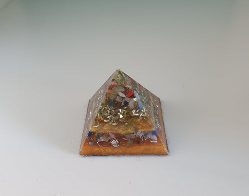 Abundance Orgonite Intention Pyramid