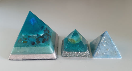 Atlantis Orgonite Intention Pyramid