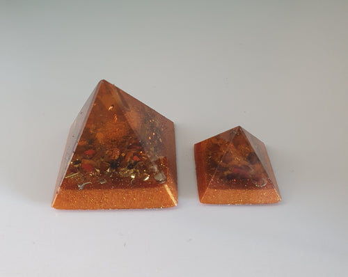 Anxiety and Stress Orgonite Intention Pyramid