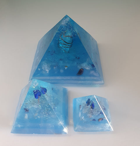 Faith Orgonite Intention Pyramid