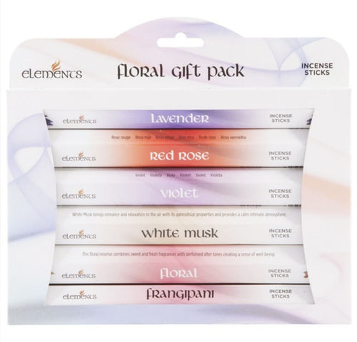 Floral Elements Incense Sticks Gift Set