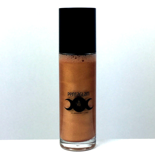 Gold Pentaglam Face & Body Mist by VE Cosmetics