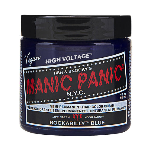 Manic Panic High Voltage® Classic Rockabilly Blue Hair Dye - Melluna_UK