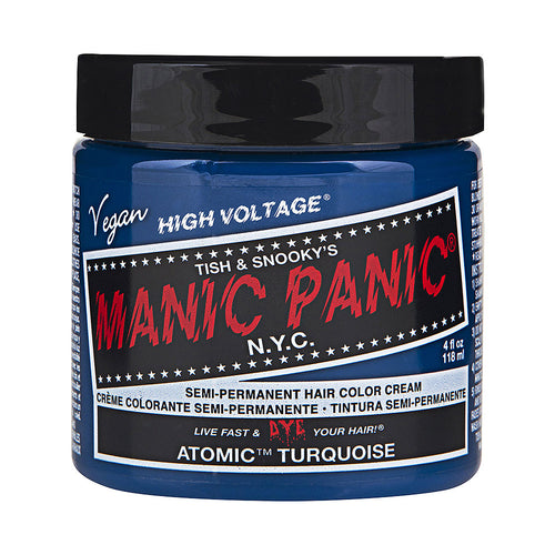Manic Panic High Voltage® Classic Atomic Turquoise Hair Dye - Melluna_UK