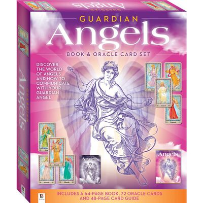 Guardian Angels Book & Oracle Card Set