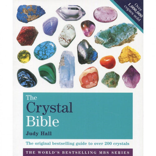 The Crystal Bible - Volume 1 Book by Judy Hall - Melluna_UK