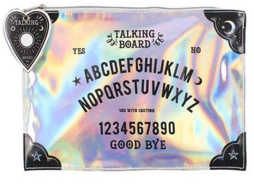 Holographic Spirit Board Make Up Bag