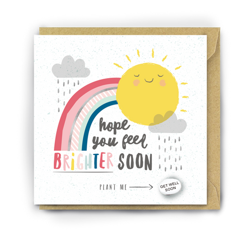 Hope You Feel Brighter Soon Card by Lucy and Lolly ***COMING SOON***
