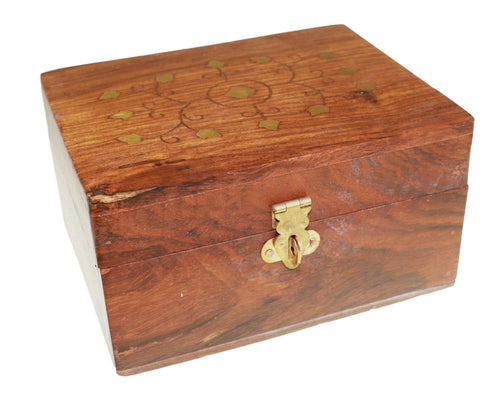 Extra Small Aromatherapy Wooden Box - Melluna_UK