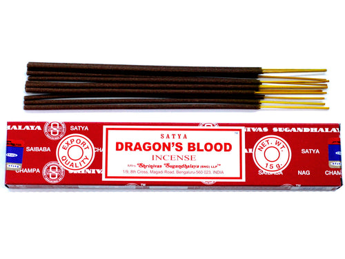 Dragon's Blood Sayta Incense Sticks - Melluna_UK
