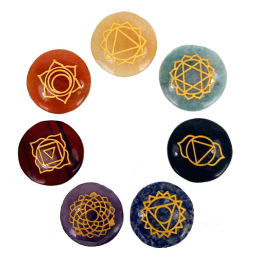 Small Stones Chakra Set - Melluna_UK