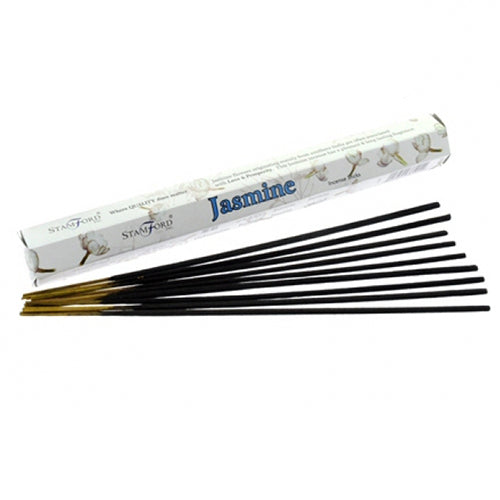 Jasmine Premium Incense Sticks - Melluna_UK