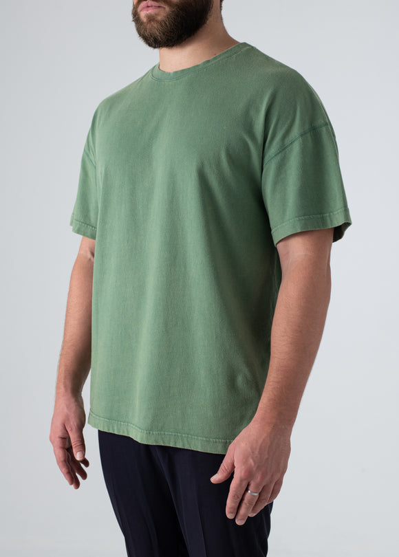 Layer Tee - Washed Green