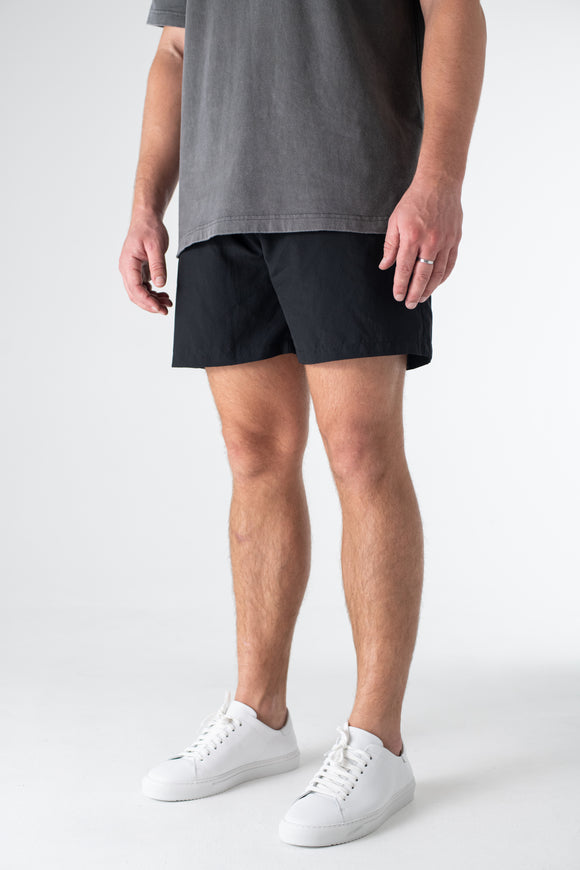 Essential Swim Shorts - Black