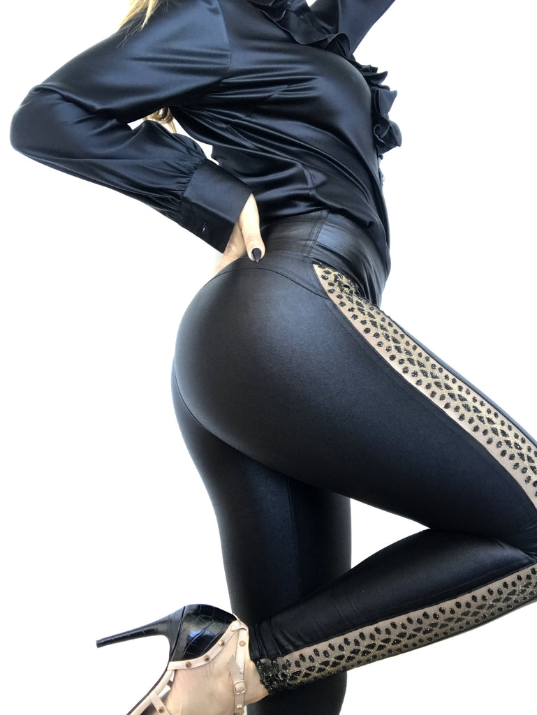 How to Wear Your Shiny Leggings