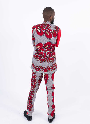African Print Men Pant - Ajiri, Male, Dial_Outfits, Dial_Outfits